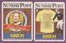 Scotland Jimmy Johnstone Glasgow Celtic 8 (SP)
